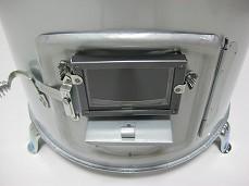 薪ストーブ タマゴ型(大)1号 窓付き